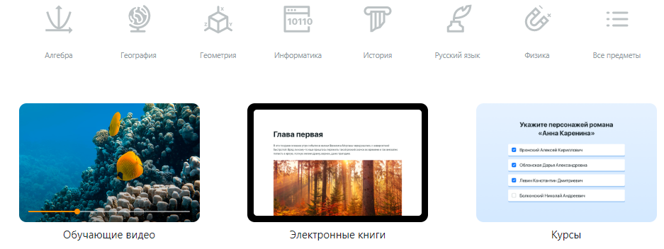 Элемент.Цифровая образовательная платформа